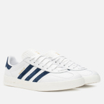 Кроссовки adidas Originals Gazelle Indoor White/Dark Blue фото- 1