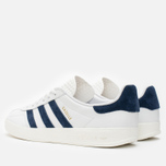 Кроссовки adidas Originals Gazelle Indoor White/Dark Blue фото- 2
