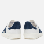 Кроссовки adidas Originals Gazelle Indoor White/Dark Blue фото- 3