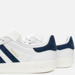 Кроссовки adidas Originals Gazelle Indoor White/Dark Blue фото- 7