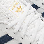 Кроссовки adidas Originals Gazelle Indoor White/Dark Blue фото- 5