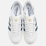 Кроссовки adidas Originals Gazelle Indoor White/Dark Blue фото- 4