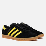 Мужские кроссовки adidas Originals Hamburg Black/Lemon Peel фото- 1