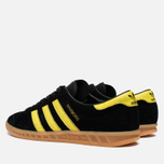 Мужские кроссовки adidas Originals Hamburg Black/Lemon Peel фото- 2