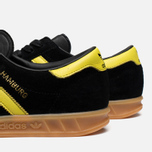 Мужские кроссовки adidas Originals Hamburg Black/Lemon Peel фото- 6