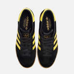 Мужские кроссовки adidas Originals Hamburg Black/Lemon Peel фото- 4