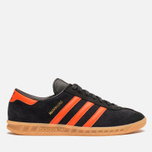 Кроссовки adidas Originals Hamburg Black/Orange фото- 0