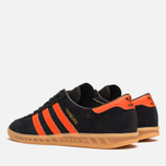 Кроссовки adidas Originals Hamburg Black/Orange фото- 2