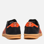 Кроссовки adidas Originals Hamburg Black/Orange фото- 3