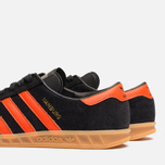 Кроссовки adidas Originals Hamburg Black/Orange фото- 6
