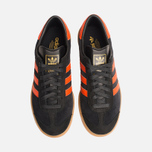 Кроссовки adidas Originals Hamburg Black/Orange фото- 4