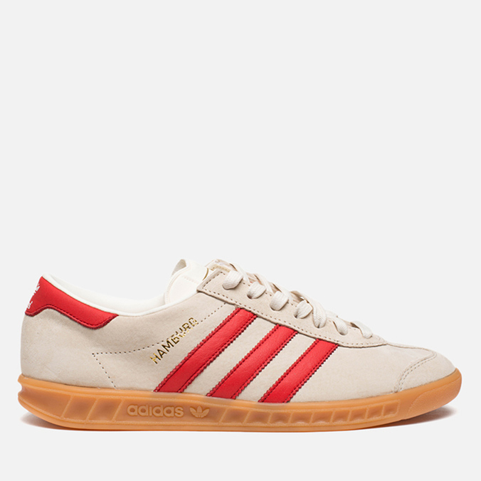 Мужские кроссовки adidas Originals Hamburg Chalk/Red