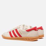 Мужские кроссовки adidas Originals Hamburg Chalk/Red фото- 2