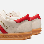 Мужские кроссовки adidas Originals Hamburg Chalk/Red фото- 6