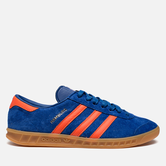 Мужские кроссовки adidas Originals Hamburg Collegiate Royal/Orange