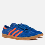Мужские кроссовки adidas Originals Hamburg Collegiate Royal/Orange фото- 1