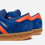 Мужские кроссовки adidas Originals Hamburg Collegiate Royal/Orange фото- 6