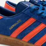 Мужские кроссовки adidas Originals Hamburg Collegiate Royal/Orange фото- 7