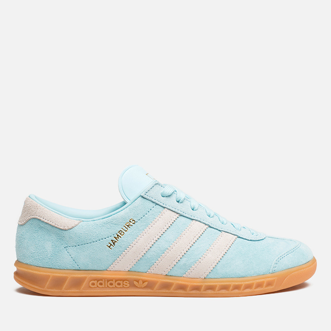 Мужские кроссовки adidas Originals Hamburg Frost Blue/White