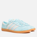 Мужские кроссовки adidas Originals Hamburg Frost Blue/White фото- 1