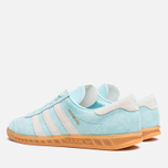 Мужские кроссовки adidas Originals Hamburg Frost Blue/White фото- 2
