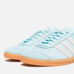 adidas Originals Hamburg Frost Blue/White photo- 5