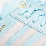adidas Originals Hamburg Frost Blue/White photo- 7