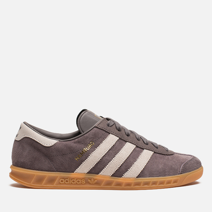Кроссовки adidas Originals Hamburg Grey/White