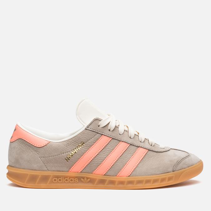 Мужские кроссовки adidas Originals Hamburg Khaki/Orange