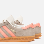 Мужские кроссовки adidas Originals Hamburg Khaki/Orange фото- 7