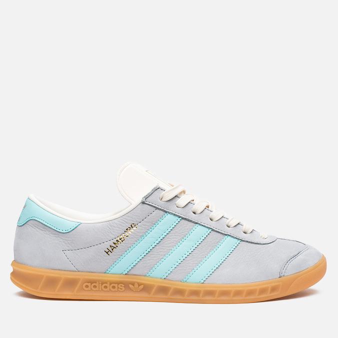 Мужские кроссовки adidas Originals Hamburg Onix/Aqua/White