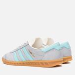Мужские кроссовки adidas Originals Hamburg Onix/Aqua/White фото- 2