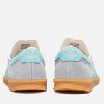 Мужские кроссовки adidas Originals Hamburg Onix/Aqua/White фото- 3