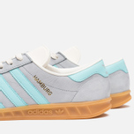 Мужские кроссовки adidas Originals Hamburg Onix/Aqua/White фото- 7