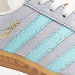 Мужские кроссовки adidas Originals Hamburg Onix/Aqua/White фото- 5