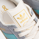 Мужские кроссовки adidas Originals Hamburg Onix/Aqua/White фото- 6