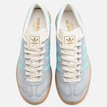 Мужские кроссовки adidas Originals Hamburg Onix/Aqua/White фото- 4