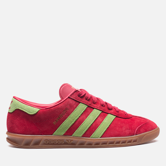 Мужские кроссовки adidas Originals Hamburg Red Beauty/Macaw