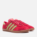 Мужские кроссовки adidas Originals Hamburg Red Beauty/Macaw фото- 1