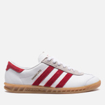 Мужские кроссовки adidas Originals Hamburg Running White/Union Red фото- 0