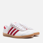 Мужские кроссовки adidas Originals Hamburg Running White/Union Red фото- 1