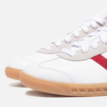Мужские кроссовки adidas Originals Hamburg Running White/Union Red фото- 5