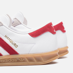 Мужские кроссовки adidas Originals Hamburg Running White/Union Red фото- 6