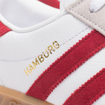 Мужские кроссовки adidas Originals Hamburg Running White/Union Red фото- 7