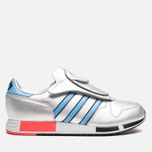 Мужские кроссовки adidas Originals Micropacer OG Silver Metallic/Blue/Red фото- 0
