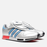 Мужские кроссовки adidas Originals Micropacer OG Silver Metallic/Blue/Red фото- 1