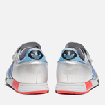 adidas Originals Micropacer OG Silver Metallic/Blue/Red photo- 3