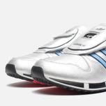 adidas Originals Micropacer OG Silver Metallic/Blue/Red photo- 5