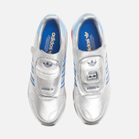 Мужские кроссовки adidas Originals Micropacer OG Silver Metallic/Blue/Red фото- 4