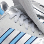 Мужские кроссовки adidas Originals Micropacer OG Silver Metallic/Blue/Red фото- 7